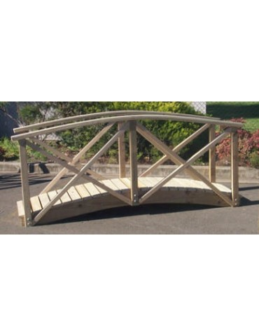 Bridge Garden 1.800 x 600 with handrail