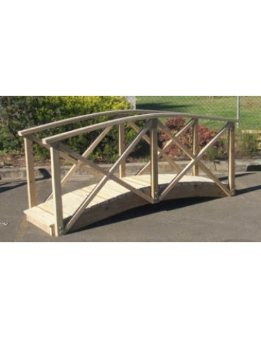 Bridge Garden 2400 x 900 with handrails