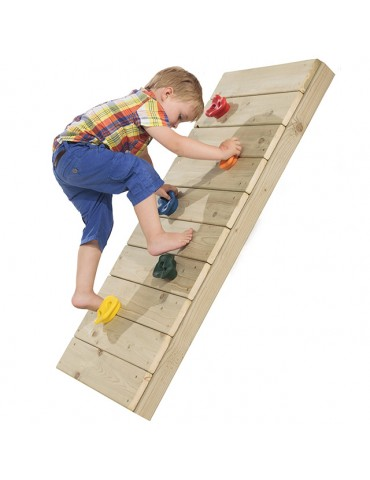 Plastic Climbing Stones (2 Pieces) - Green