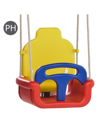 Baby Seat 'Growing Type' RED/YELLOW/BLUE