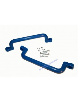 Long Plastic Handle Grip BLUE 32 cm