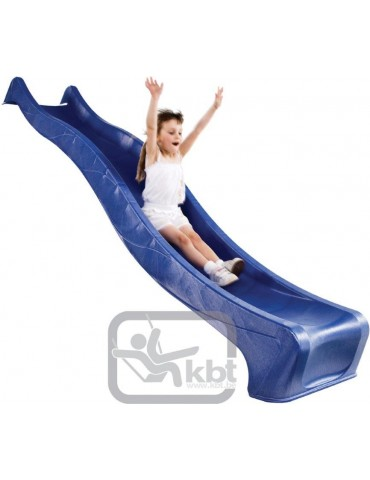 Plastic Slide for 1.5 metre high deck BLUE Slide (3.0m) with WATER ATTACHMENT