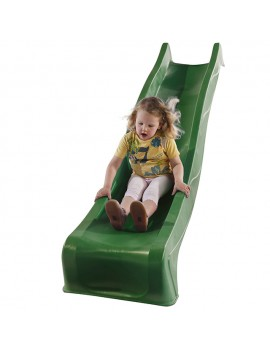 Plastic Slide for 1.5 metre high deck GREEN Slide (3.0m) with WATER attachment