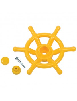 Steering Wheel Boat YELLOW
