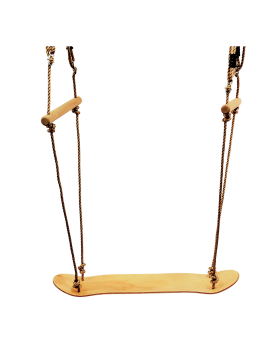 SkateBoard Surf Swing With Adjustable Ropes