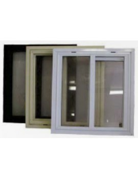 Aluminium Windows With Perspex