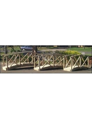 Bridge Garden 4200 x 900 with handrails