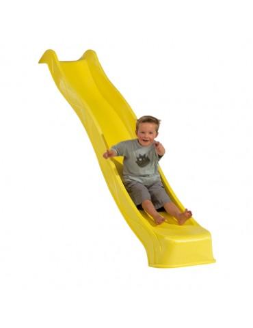 Plastic Slide for 900 mm high deck YELLOW Slide  (2.05m)