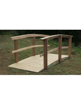 Bridge for Wheelchairs 1200 wide x 3000 long with Rail