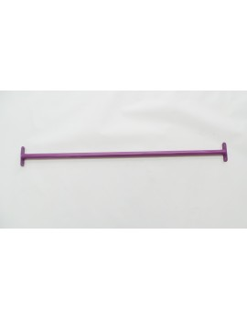 Tumble Spin Bar  1250  long PURPLE