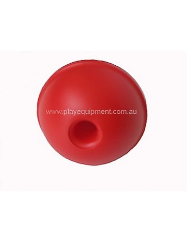 Plastic Abacus Ball RED