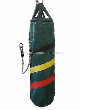 Vinyl Boxing Bag Green