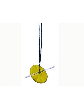 Daisy Disc YELLOW with Blue Rope
