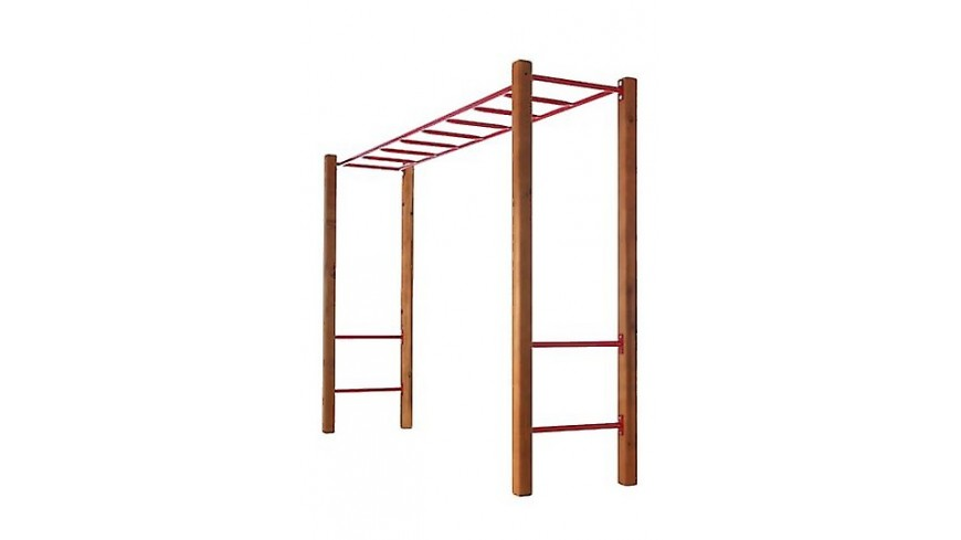 Monkey Bar with Step Rails and Posts