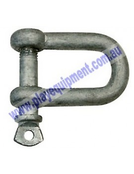 D Shackle Large 10 mm pin