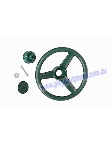 Steering Wheel GREEN