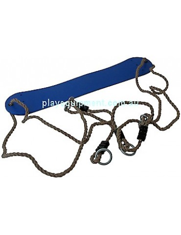 Strap Seat Heavy Duty BLUE with Adjustable Ropes