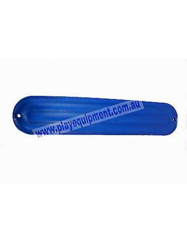 Strap Seat Moulded Ribbed BLUE