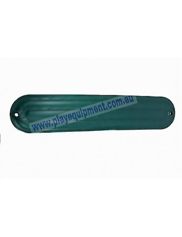 Strap Seat Moulded Ribbed GREEN