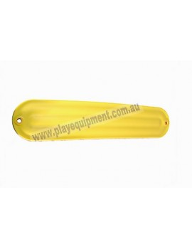 Strap Seat Moulded Ribbed YELLOW