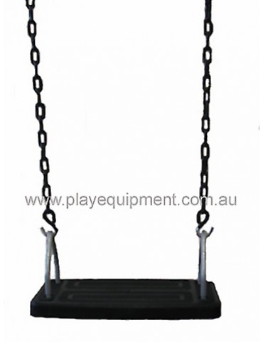 Medium Safety Seat Commercial & Plastic Coated Chains