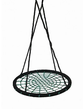 Nest Swing Round BLACK/GREEN