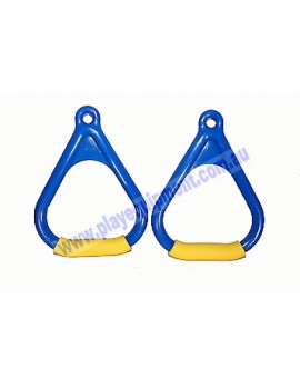 Triangle Handle Soft Grips BLUE/YELLOW