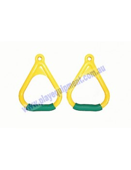 Triangle Delta Handle Soft Grips YELLOW/GREEN*