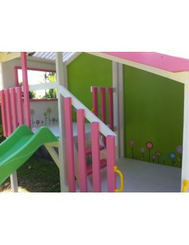 Cubby House Dual Cubbies Wonderland