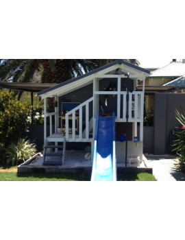 Cubby House Dual Cubbies Sandpit