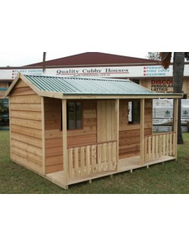 Richmond Cedar Clad Cubby   3.30 x 2.70