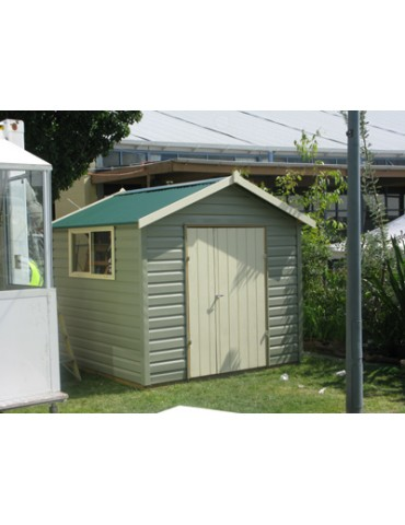 Shed Vinyl Clad 1500 Wide x 4200 Deep x 1800 high