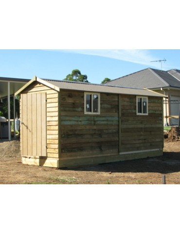 Shed Treated Pine 2400 Wide x 6000 Deep x 1800 high