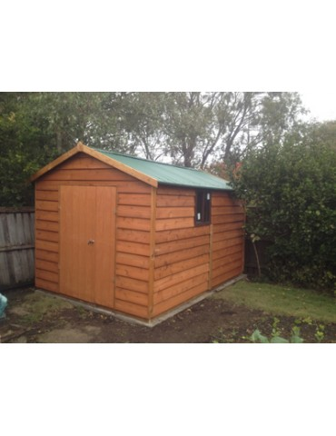 Shed Cedar Clad 1500 Wide x 5400 Deep x 1800 high