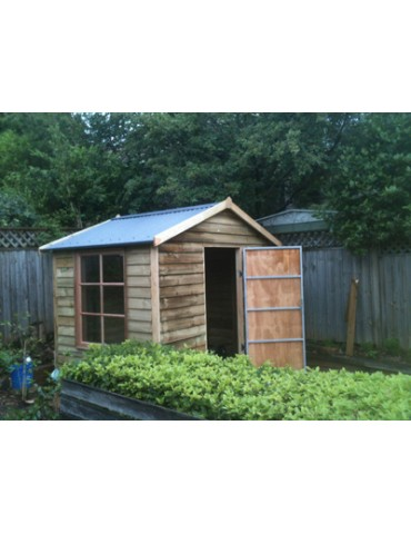 Shed Treated Pine 1500 Wide x 1800 Deep 1800 high