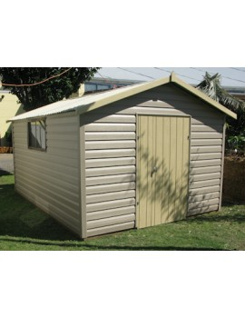 Shed Vinyl Clad 2400 Wide x 3000 Deep x 1800 high
