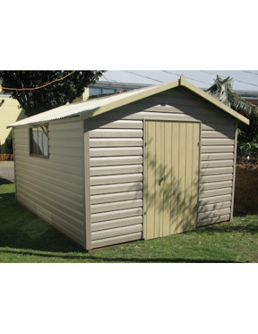 Shed Vinyl Clad 1800 Wide x 6000 Deep x 1800 high